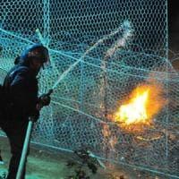 Chiomonte: nuovo attacco al cantiere Tav, bombe carta sulle recinzioni