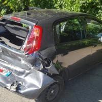 Torino: tamponata un'auto della polizia municipale, feriti due vigili