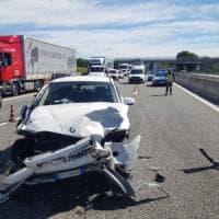 Torino, un altro incidente in tangenziale, due feriti in ospedale