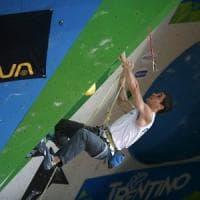 Coppa del mondo di arrampicata, Bombardi dal Bside all'oro di Chamonix