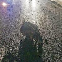 Tamponamento in tangenziale a Torino: muore una donna, un ferito grave