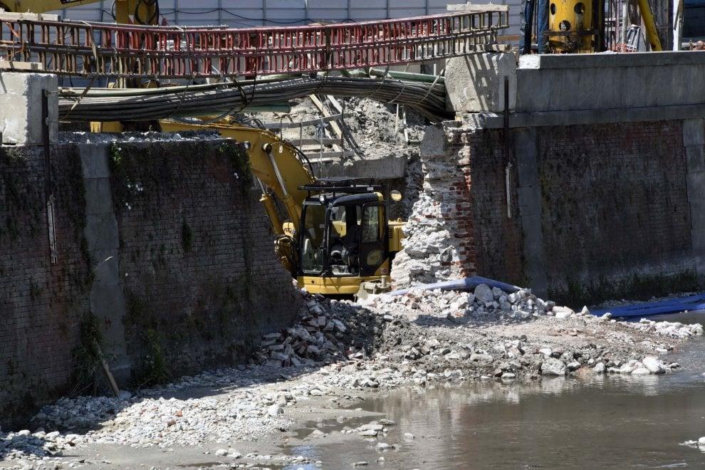 Una centrale idroelettrica nel cuore di Torino: ecco il cantiere sulla Dora