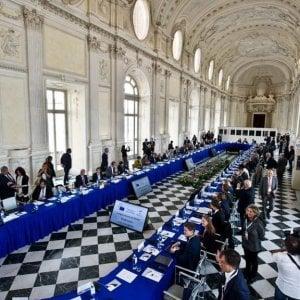 G7, ecco il programma del summit dirottato alla Reggia di Venaria
