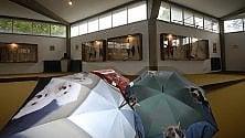 Nel museo degli ombrelli tra i laghi  d'Orta e Maggiore