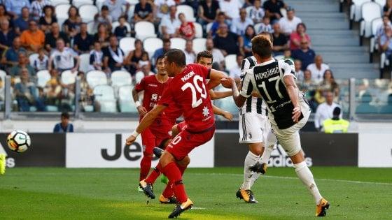 La Juve apre il campionato con un tris: Mandzukic, Dybala e Higuain stendono il Cagliari