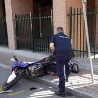 Motociclista 36enne gravissimo dopo un incidente a Nichelino