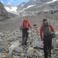 Monte Bianco, la ritirata del ghiacciaio del Miage restituisce i corpi di