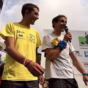 Nuovo record di salita al Monviso dei gemelli De Matteis: un ora e 40 minuti per arrivare a 3841 metri d'altezza
