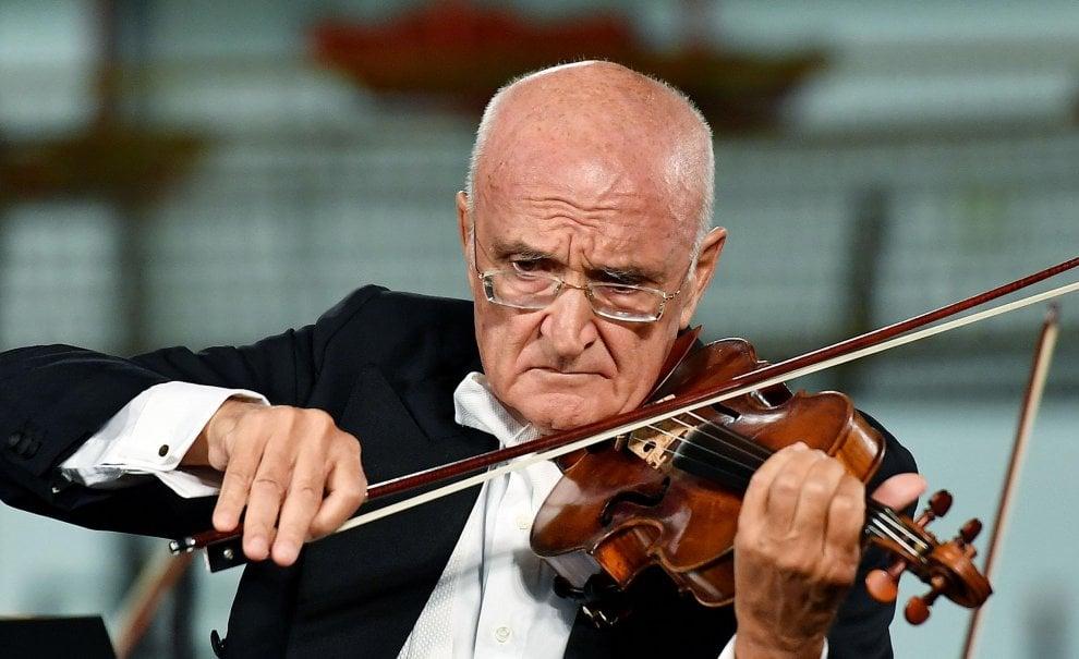 Torino, il violino di Accardo nella fabbrica tecnologica ideata da Renzo Piano