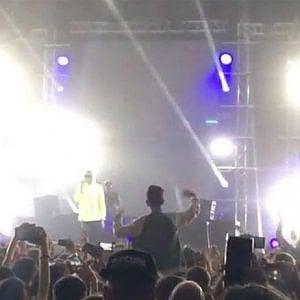Mondovì, spray al peperoncino tra la folla al concerto del rapper Ghali