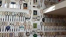 Da Rod Laver a Nadal: mille racchette dei big del tennis in un museo