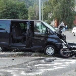 Dall'Abs del furgone forse la verità sulla coppia travolta in moto a Condove
