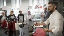 Torino, nella casa più bella del mondo lo chef Baronetto cucina con le creme antirughe