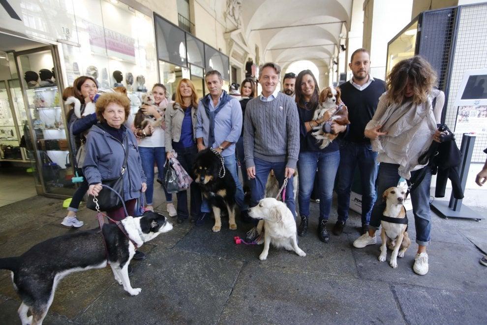 Torino, tutta via Po diventa pet friendly