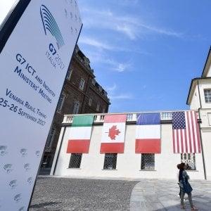G7, a Torino: si alza il sipario sul vertice: i primi gruppi di lavoro alla Reggia di Venaria