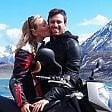 A casa dopo due mesi Matteo, fidanzato di Elisa, travolta e uccisa in moto da un furgone a Condove