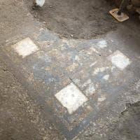 Mosaico del II secolo dopo Cristo scoperto nel Quadrilatero Romano di Torino