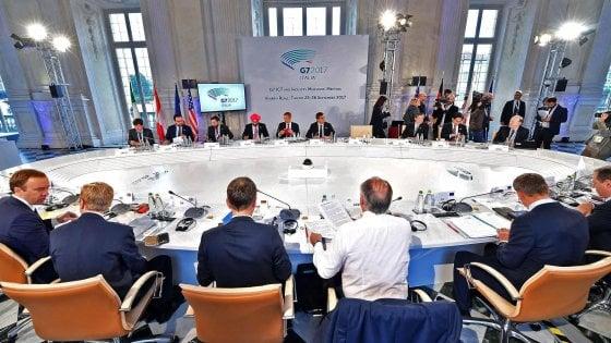 G7 a Torino, giornalisti esteri assenti: salta la cena di gala al Circolo degli industriali