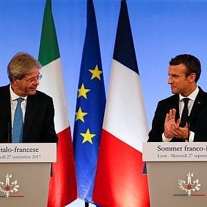 """Macron a Gentiloni: """"Torino - Lione, il tunnel di base va concluso"""""""