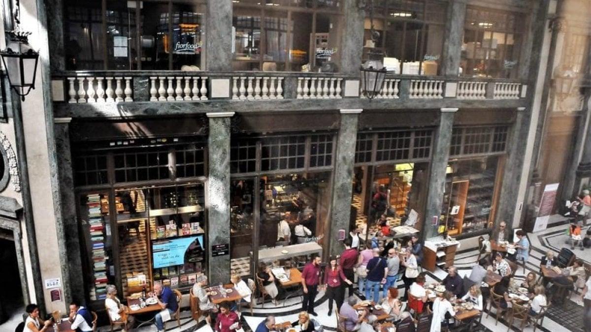 Ristorante La Credenza Galleria San Federico : Lo spuntino da fiorfood con le tapas piemontesi e gli squisiti