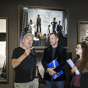Venaria, lo sguardo  di Lindbergh su stilisti, supermodelle e dive del cinema