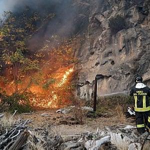 Cuneo, in un bosco trovati 5 inneschi incendiari e una tanica di benzina
