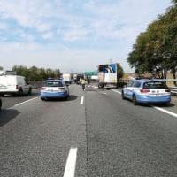Torino, tangenziale in tilt per un un doppio incidente