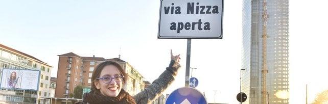 Chiuso il cantiere del metrò: dopo 5 anni in via Nizza la circolazione torna normale