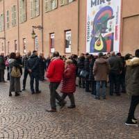 Torino, con Mirò tornano le code degli appassionati d'arte