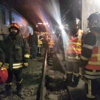 Allarme per un treno nel tunnel del Frejus, ma è un'esercitazione di soccorso
