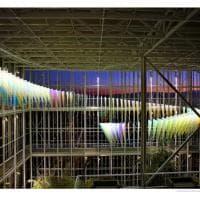 Torino, le luci d'artista si accendono anche sul grattacielo di Intesa
