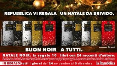 Un Natale in noir con Repubblica Torino:  i grandi della letteratura gratis in edicola