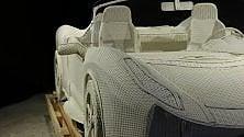 Al Mauto la Ferrari  made in Thailandia:  è tutta in vimini