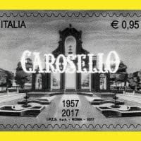 """Sessant'anni dal debutto di """"Carosello"""": le Poste lo celebrano con un francobollo"""