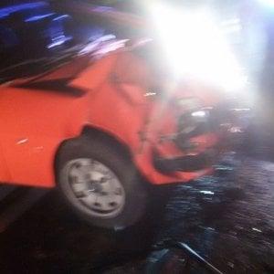 Grave incidente a Orbassano per una manovra spericolata, due feriti gravi