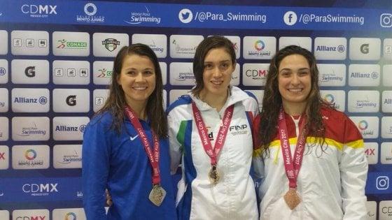 Teenager di Torino vince quattro ori ai mondiali di nuoto paralimpico