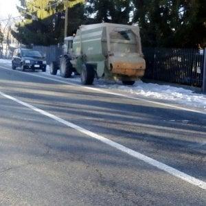 Pinerolo, automobilista muore in un tamponamento con un trattore