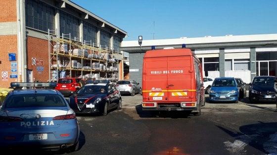 Torino, esplode una fabbrica chimica: due ustionati in gravi condizioni
