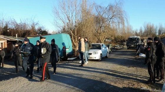 Beinasco, al campo nomadi furto di energia elettrica per 122mila euro