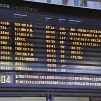 Neve in Piemonte, trasporti ferroviari in tilt e disagi per i pendolari