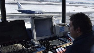 Controllori di volo a Caselle, un