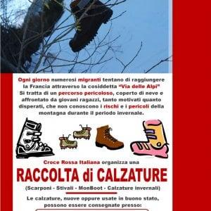Bardonecchia, migranti in fuga: Croce Rossa lancia raccolta di scarponi