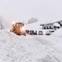 Allarme neve: isolate Cogne, Gressoney, Cervinia e Macugnaga