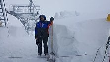 Bardonecchia, la nevicata record ferma la nuova seggiovia a sei posti