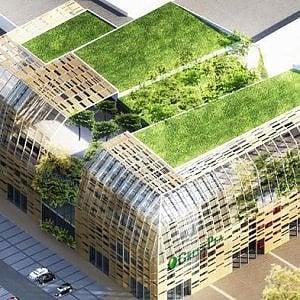 """Torino, via ad aprile al cantiere dell'Eataly dell'ecologia, dedicata a vestiti e mobili """"verdi"""""""