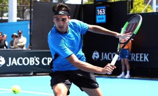Sonego, una stella torinese brilla agli Australian Open