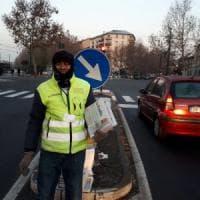 Strilloni con Repubblica: il giornale in vendita agli incroci