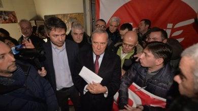 """Embraco,    a Grasso lettera per Mattarella  Il leader LeU: """"Una sanzione del 2 per cento  alle multinazionali che lasciano""""     video"""