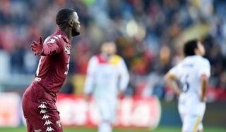 Torino-Benevento 3-0, tutto facile per i granata. Campani non pervenuti