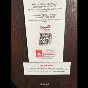In Piemonte con un app si aprono e si visitano chiese e monumenti incustoditi